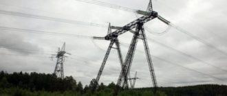 Сибирские электросети, леса и просторы